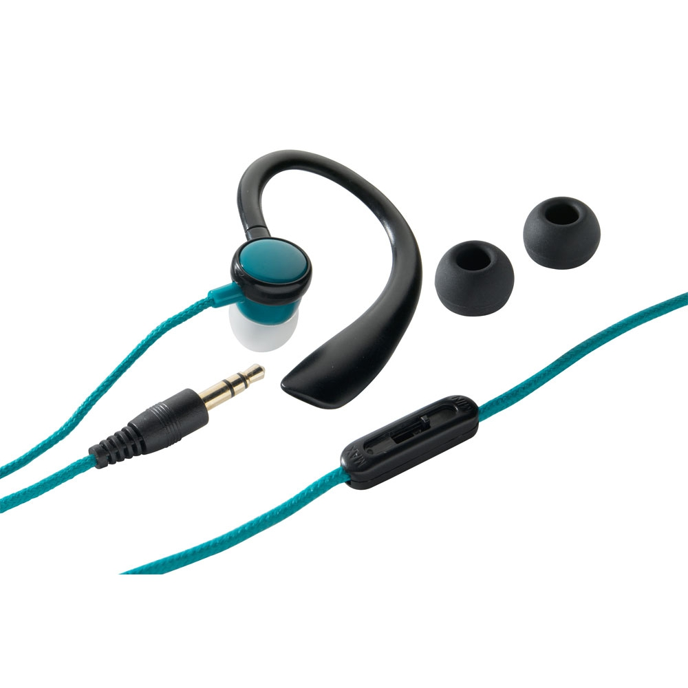 Fone de ouvido esportivo com controle de volume  - ONE FOR ALL