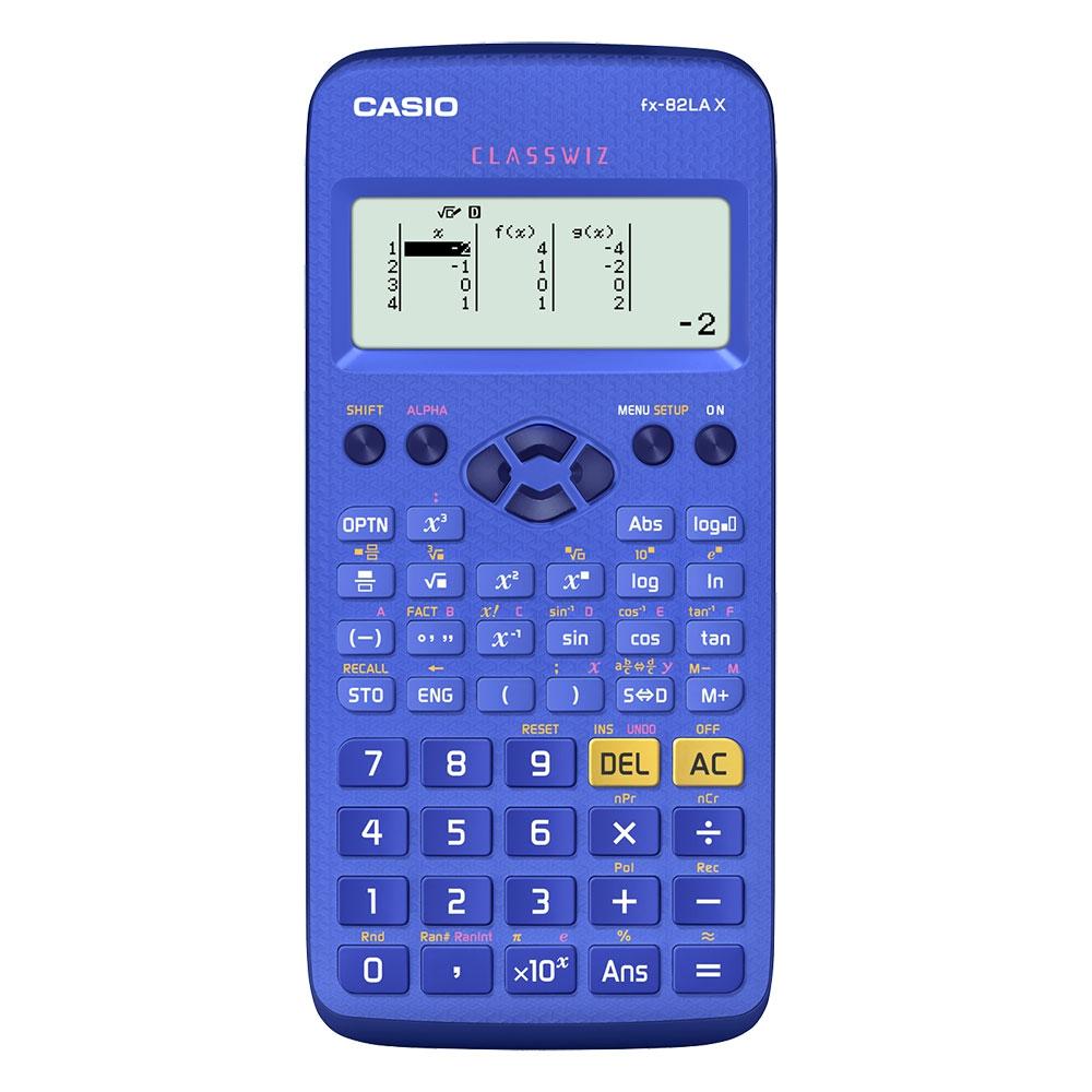 Calculadora Científica Casio Azul, com 274 funções - FX-82LAX-BU