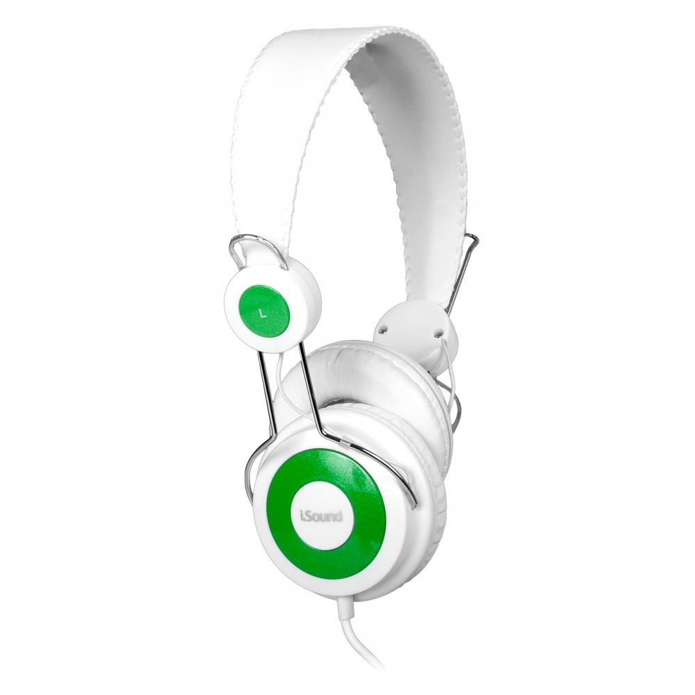 Headphone I-sound com Microfone Branco - DGHP5505