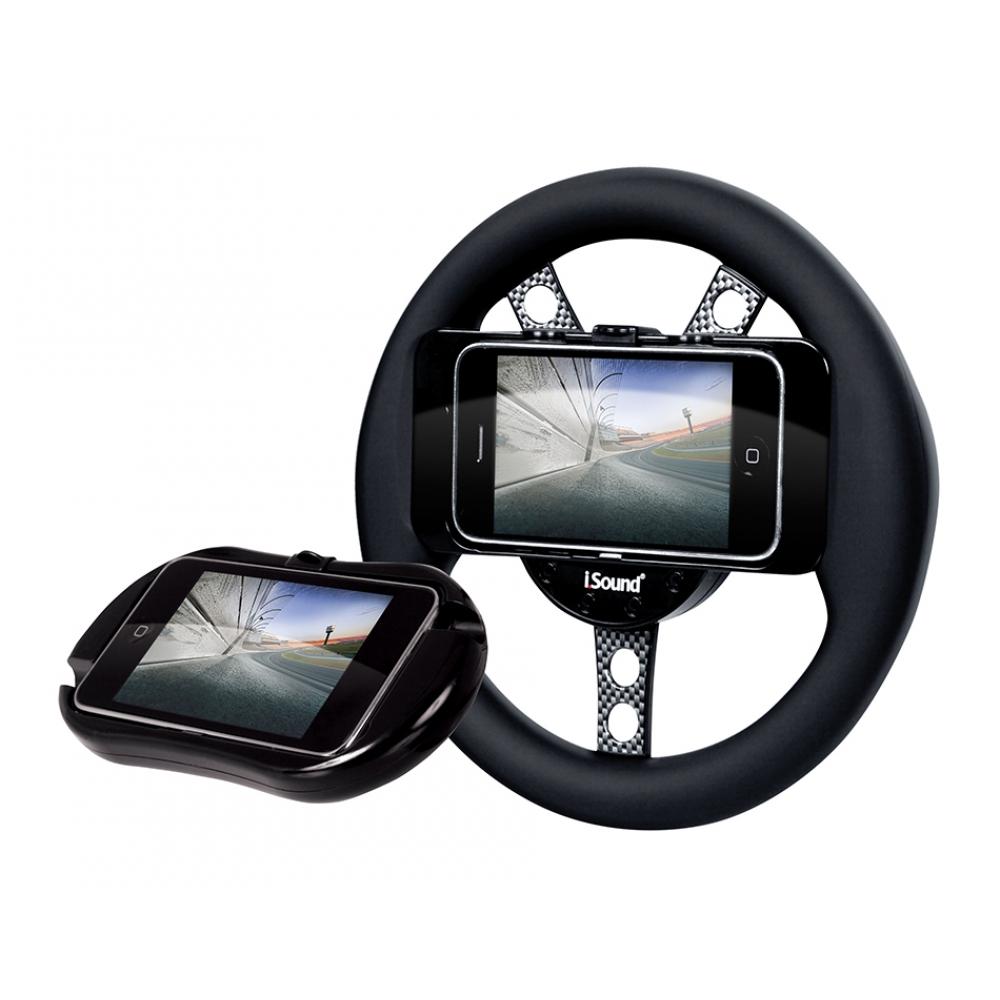 Volante e Estojo Dreamgear para Jogos de Corrida para Iphone e Ipad Touch - DGIPOD1558