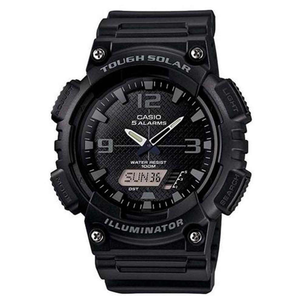 Relógio Masculino Anadigi Casio AQ-S810W-1A2VDF - Preto