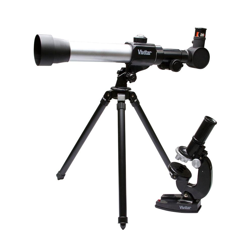 Kit Combinado Telescópio e Microscópio VIVTELMIC20 - VIVITAR