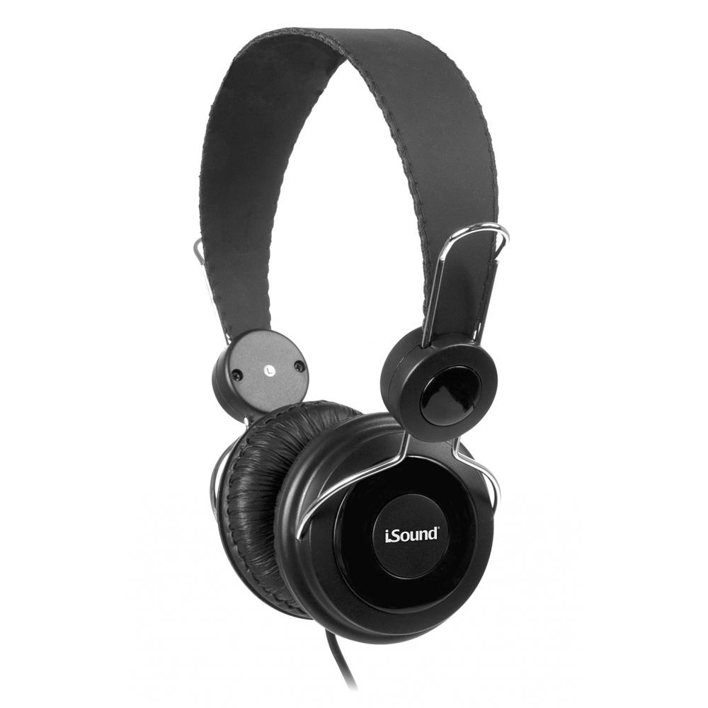 Headphone I-sound com Microfone Preto - DGHP5501