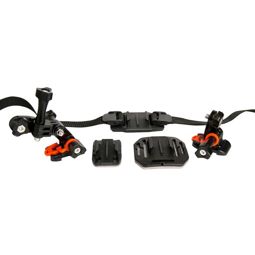 Suportes para montagem de câmera de ação em capacete, bike e outros  - VIVITAR