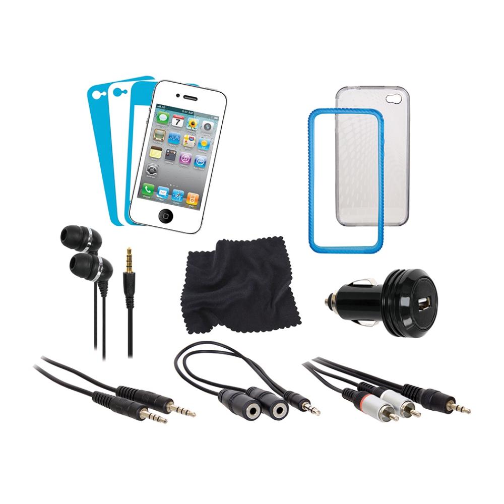 Kit de Acessórios Dreamgear para Iphone 4 - DGIPOD1577
