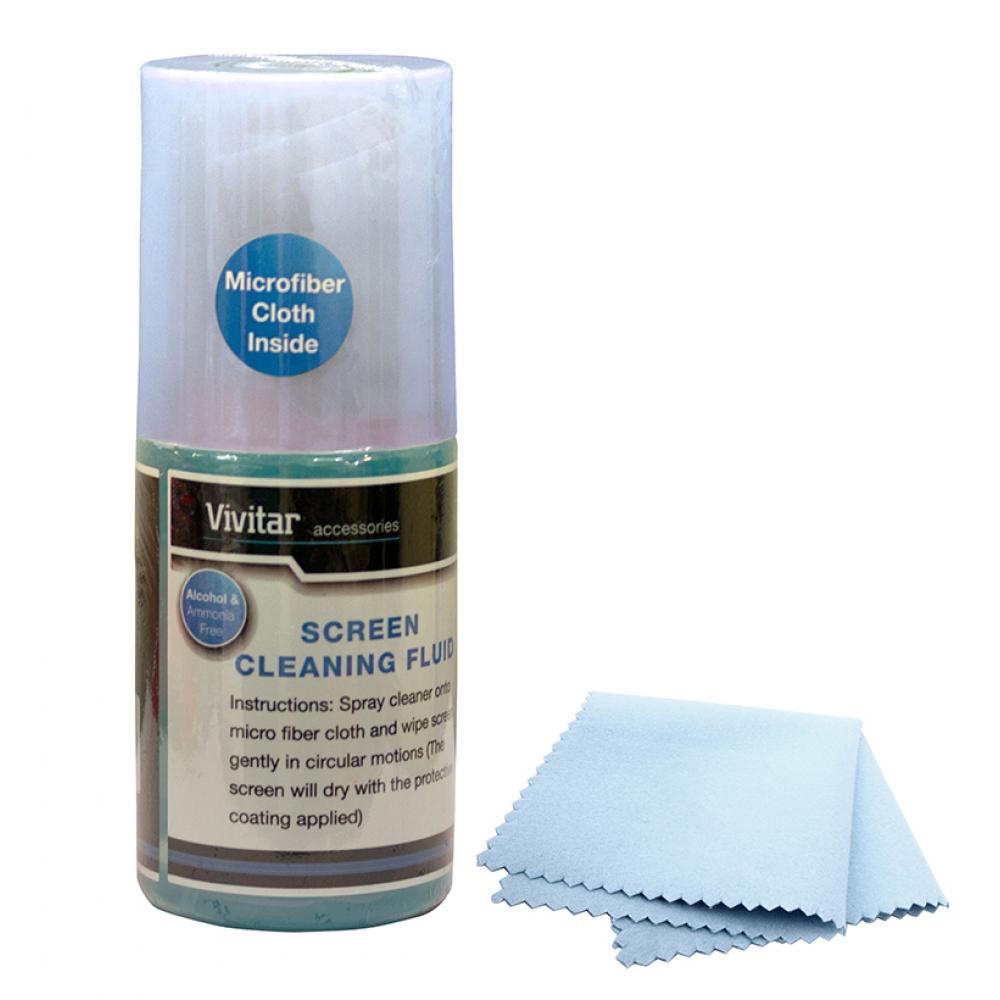 Kit de limpeza para tela de LCD - VIVITAR