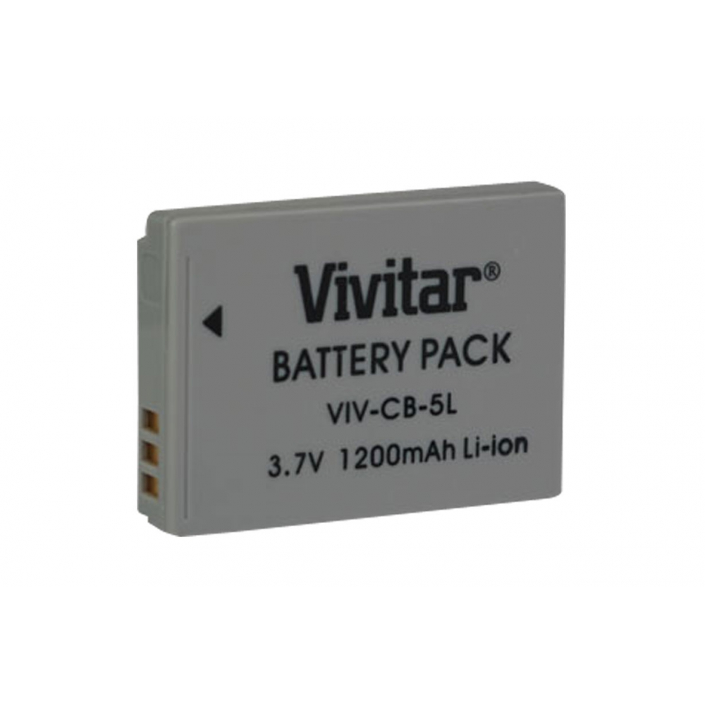 Bateria recarregável equivalente a Canon modelo NB5L - VIVITAR