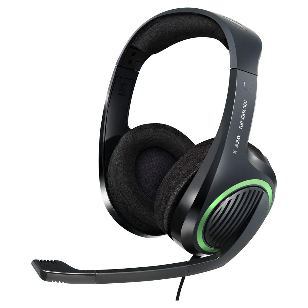 Headset com microfone Sennheiser X320 para Xbox 360  - SENNHEISER