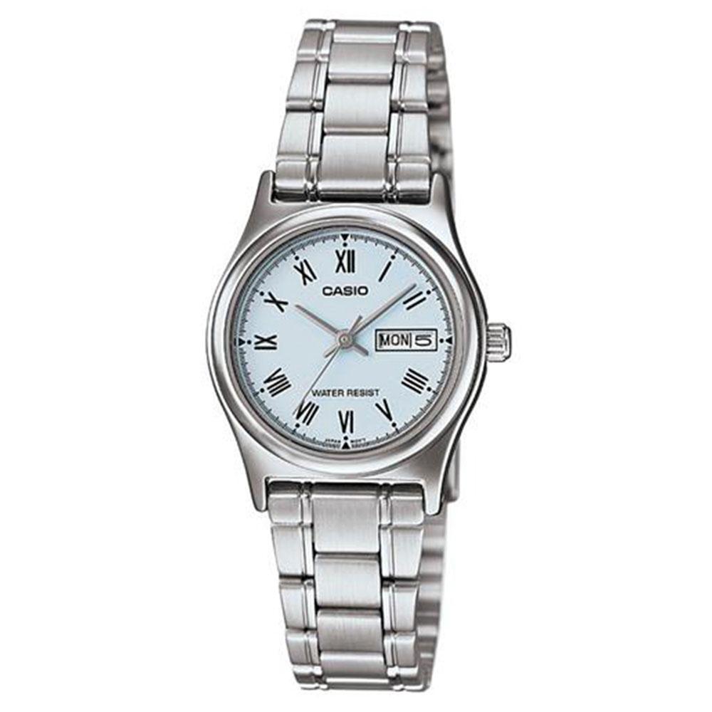 Relógio Feminino Analógico Casio LTP-V006D-2BUDF - Prata