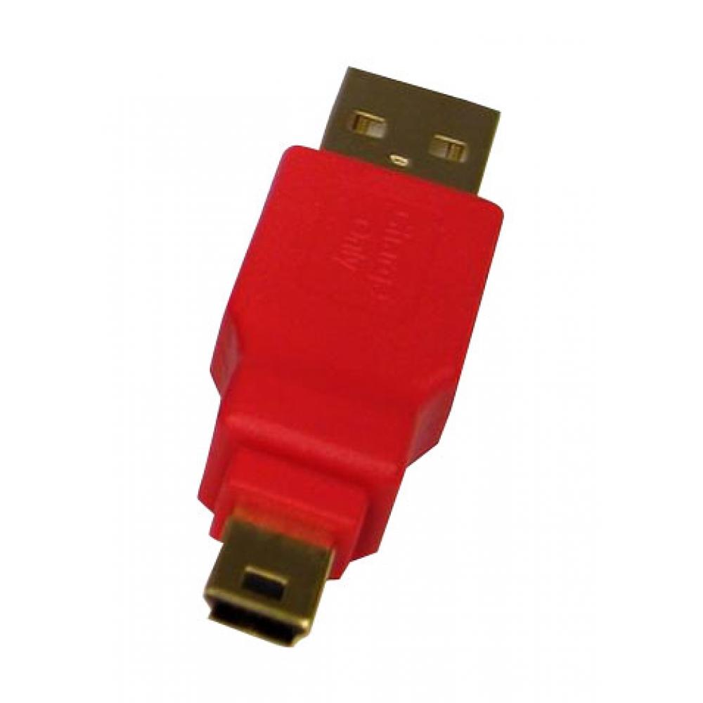 Adaptador USB A / USB mini 5 para carga  - ZIPLINQ