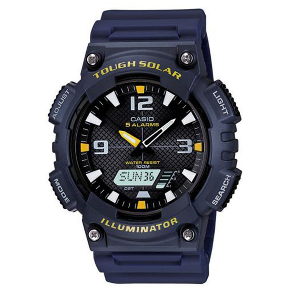 Relógio Masculino Anadigi Casio AQS810W2AVDF - Azul
