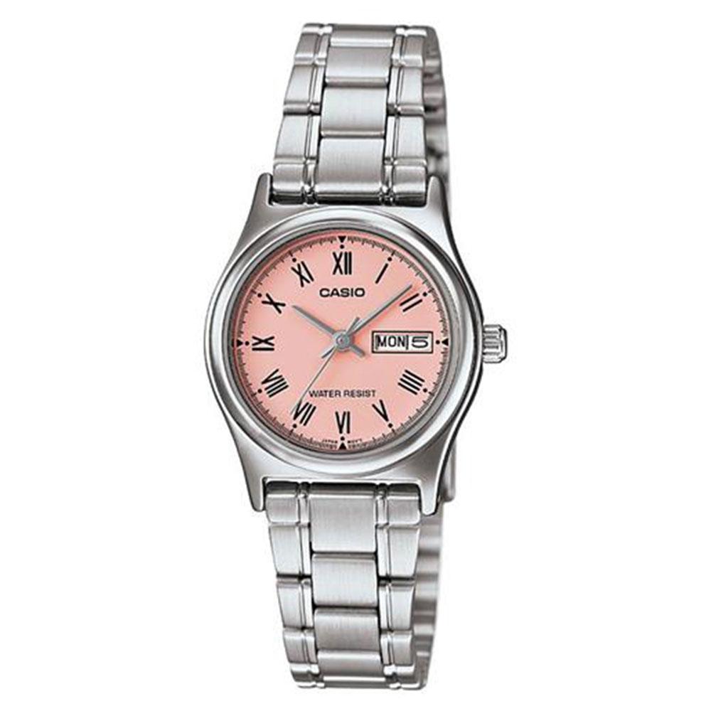 Relógio Feminino Analógico Casio LTP-V006D-4BUDF - Prata