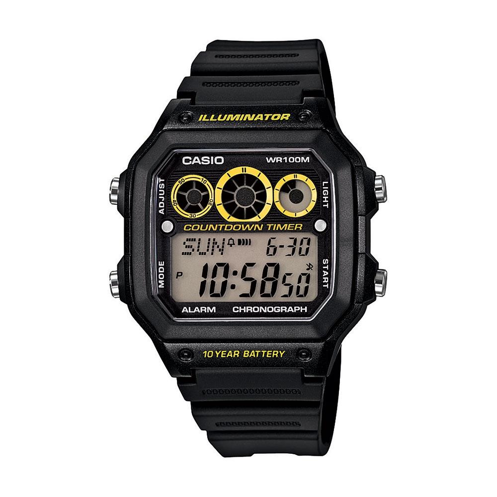 Relógio Masculino Casio Digital Esportivo AE-1300WH-1AVDF