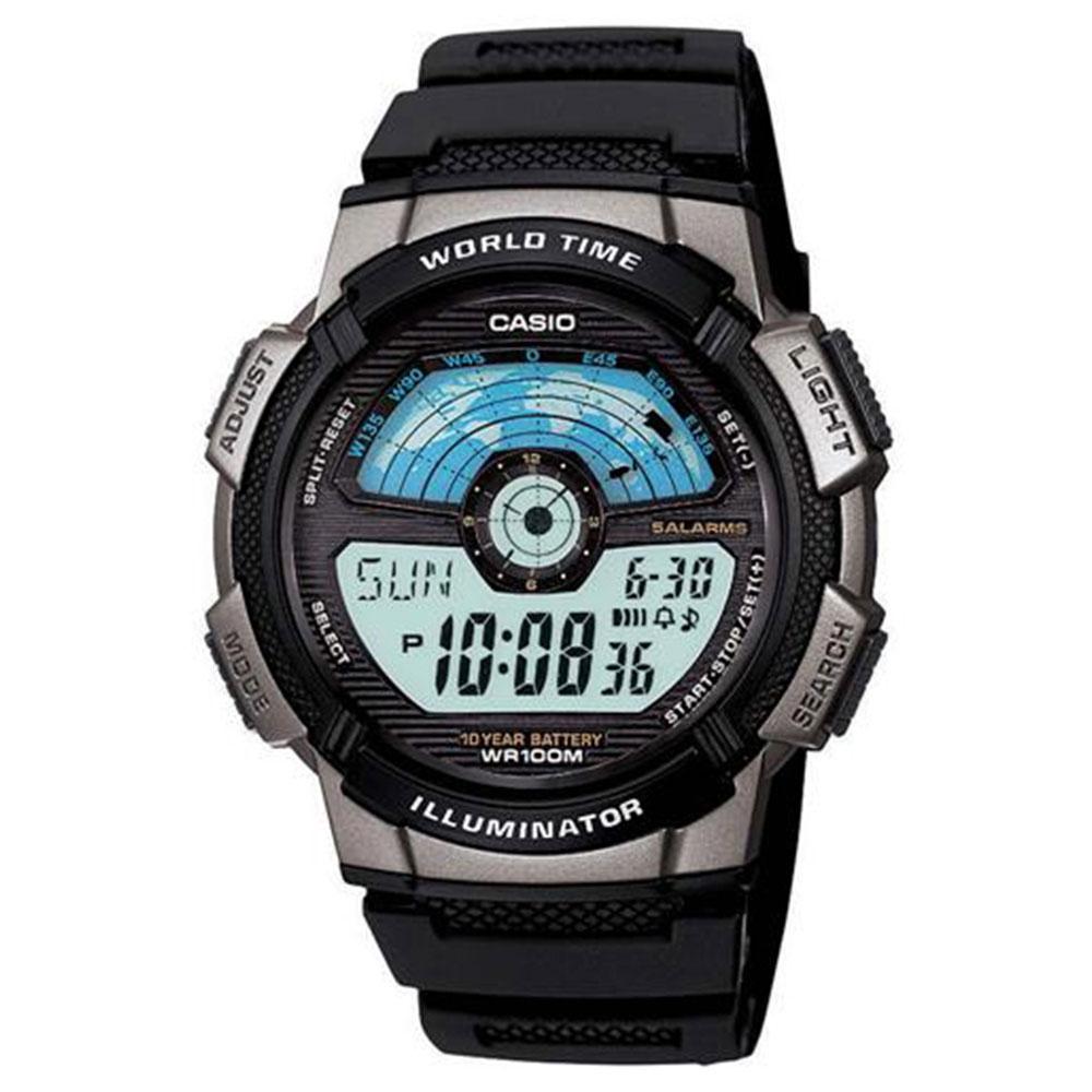 Relógio Masculino Digital Casio AE-1100W-1AV - Preta