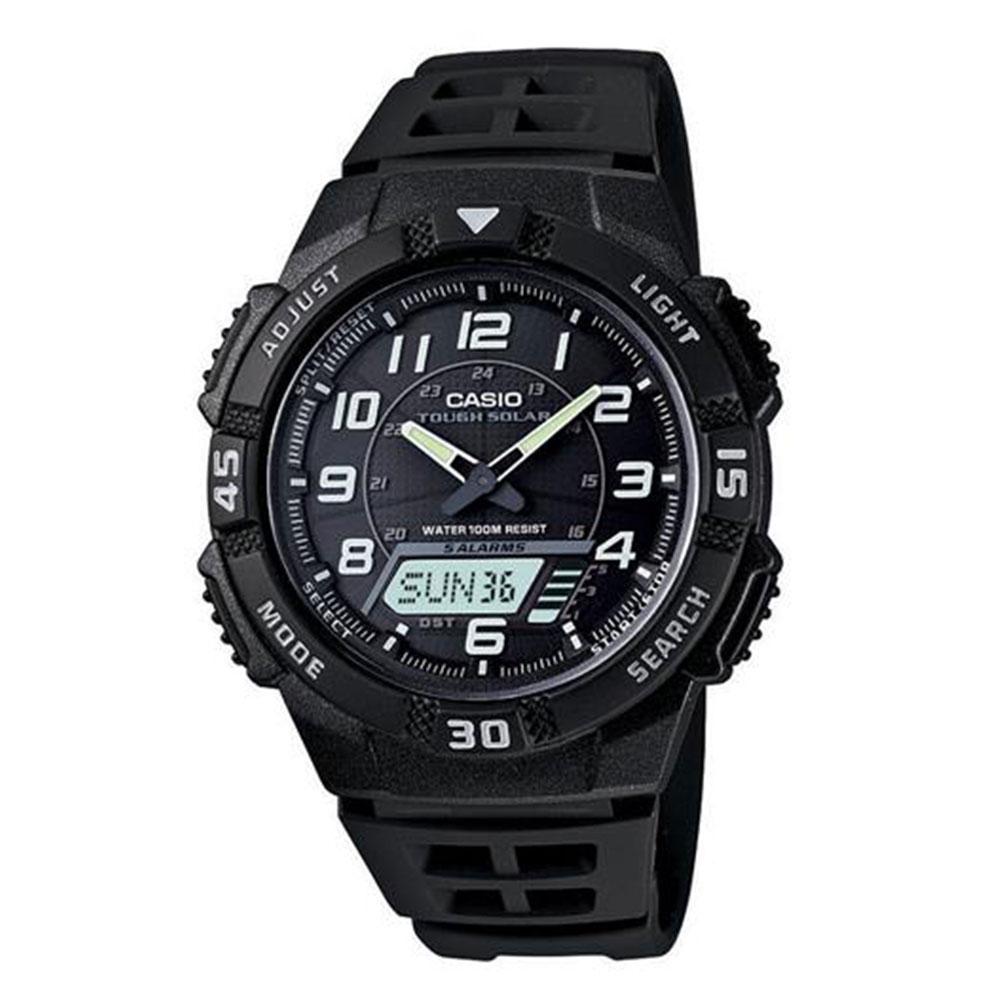 Relógio Masculino Anadigi Casio AQS800W1BVDF - Preto