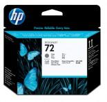 Cabeça de Impressão HP 72 Cinza e Preto Fotográfico C9380A