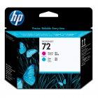 Imagem - Cabeça de Impressão HP 72 Magenta e Ciano C9383A