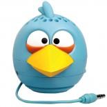 Caixa de Som Angry Birds PG780G bateria/usb plug P2 2,5W RMS Blue Bird