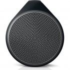 Caixa de Som Speaker Logitech X100 com 1,5 Watts RMS, Preto e Cinza - Bluetooth