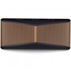 Caixa de Som Speaker Logitech X300 com 10 Watts RMS, Preta e Marrom- Bluetooth