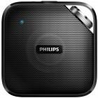 Caixa de Som Speaker Philips BT2500B/00, Bluetooth, Microfone Embutido, com 3 Watts RMS - Preto