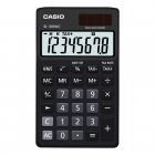 Calculadora Casio portátil color Preto, visor XL, 8 díg e alimentação dupla SL-300NC - CASIO