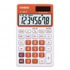 Calculadora Casio portátil color Vermelha, visor XL, 8 díg e alimentação dupla SL-300NC - CASIO