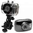 Câmera Filmadora de Ação HD Vivitar Preto, com Caixa Estanque e Acessórios - DVR785HD