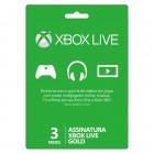 Cartão Xone Live Gold - 3 Meses
