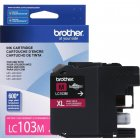 Cartucho Brother 103M XL Magenta LC103M
