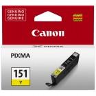 Cartucho de Tinta Canon CLI-151 Amarelo
