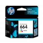 Imagem - Cartucho de Tinta HP 664 Ink Advantage F6V28AB - Colorido