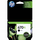 Cartucho HP 670XL Preto 14ml CZ117AB