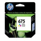 Cartucho HP 675 Colorido 5ml CN691AL