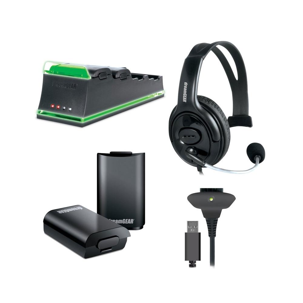 Kit de Acessorios Dreamgear para Xbox 360 - DG360-1736