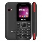Celular Blu Z3 Z090 Preto e Vermelho, Dual Chip, Tela 1.8