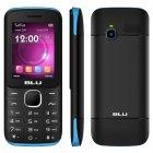 Celular Blu Zoey 2.4 Z070L Preto e Azul, Dual Chip, Tela 2.4