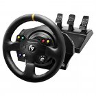 Conjunto de Volante e Pedais Thrustmaster TX RW LEATHER Edition para PC e Xbox One - 4469021