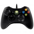 Controle Com Fio Para Xbox 360 - Preto