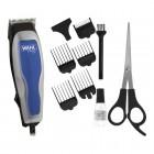 Cortador de Cabelo Wahl Home Cut Basic, 5 Pentes de Corte, 220V - Prata e Azul