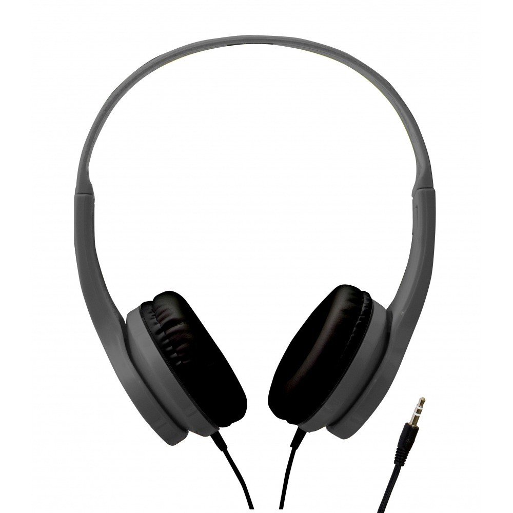 Fone de ouvido tipo headphone Cinza - VIVITAR
