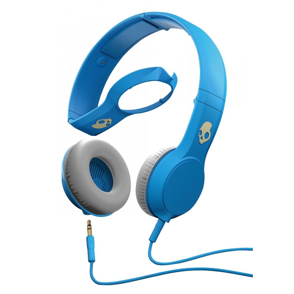 Fone de ouvido Skullcandy Cassette Azul - SKULLCANDY