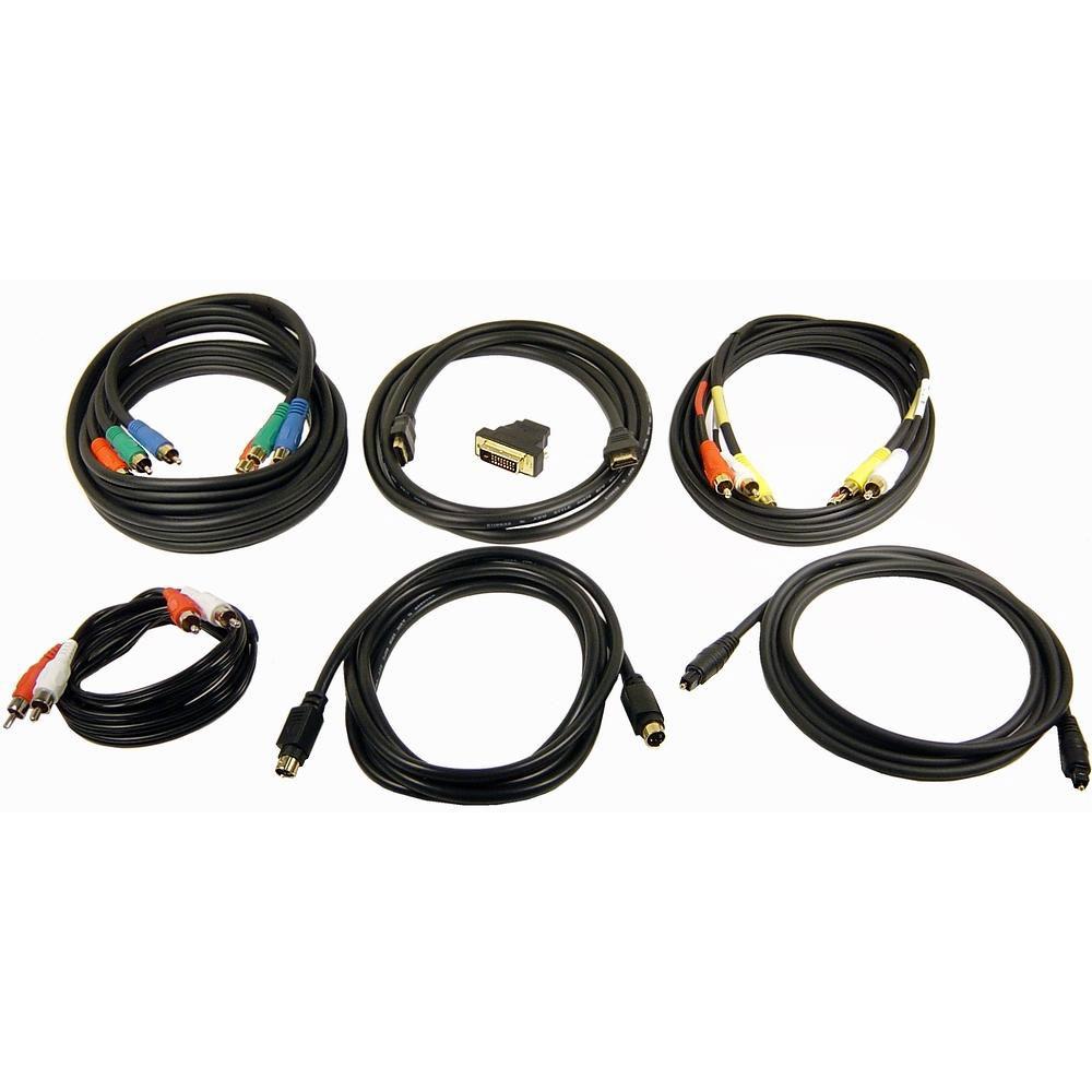 Conjunto de Cabos e Conectores HDTV Cables Unlimited - AUDHDTVKIT