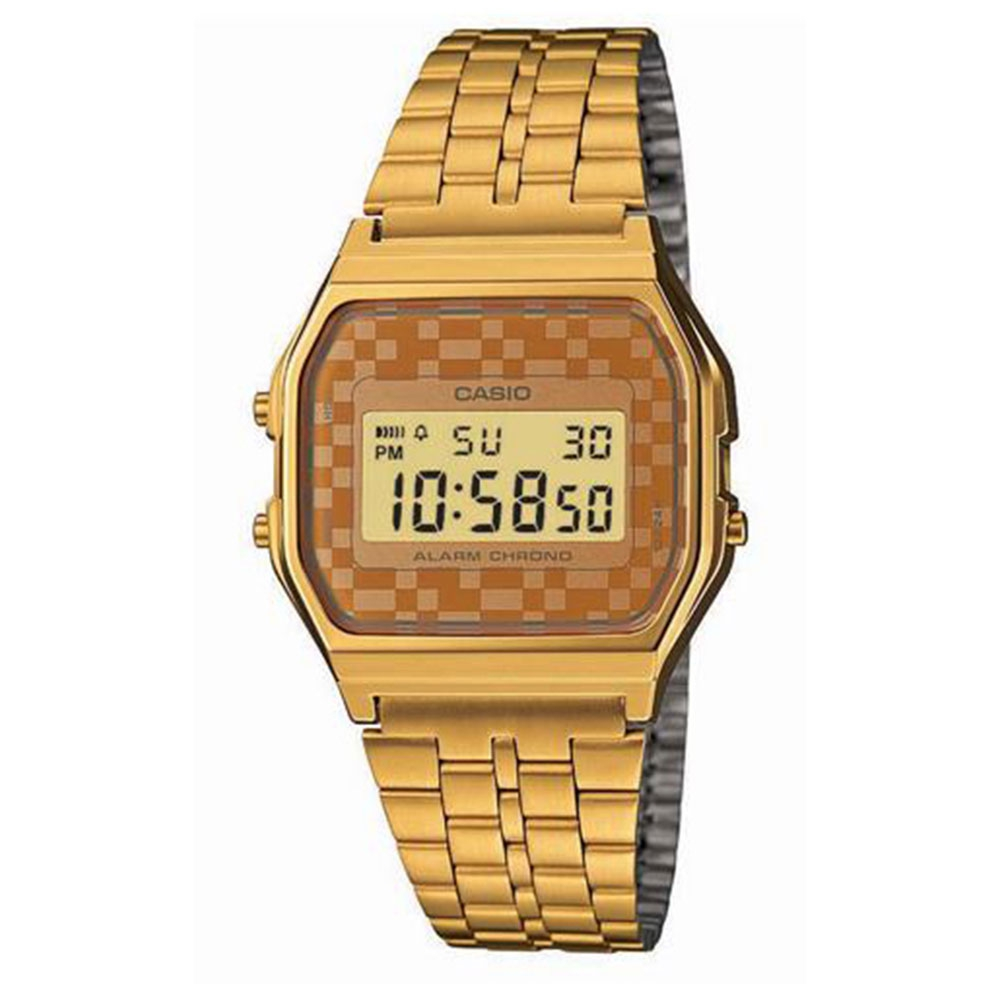 Relógio Feminino Digital Casio A159WGEA-9ADF - Dourado