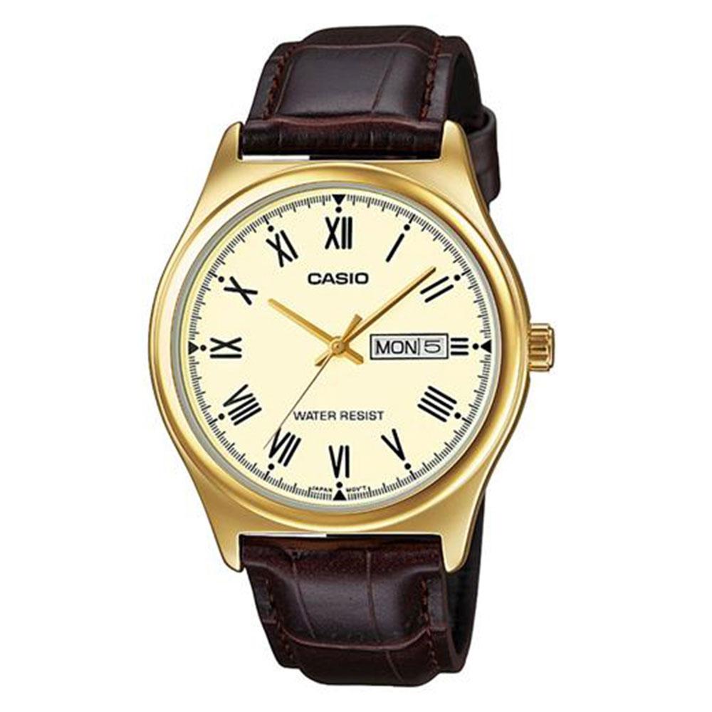 Relógio Masculino Analógico Casio MTP-V006GL-9BUDF - Marrom