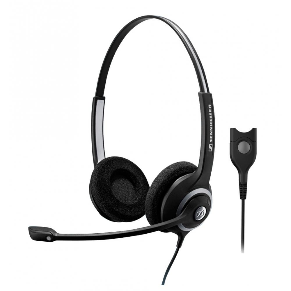 Headset profissional com 2 conchas e microfone inteligente  - SENNHEISER