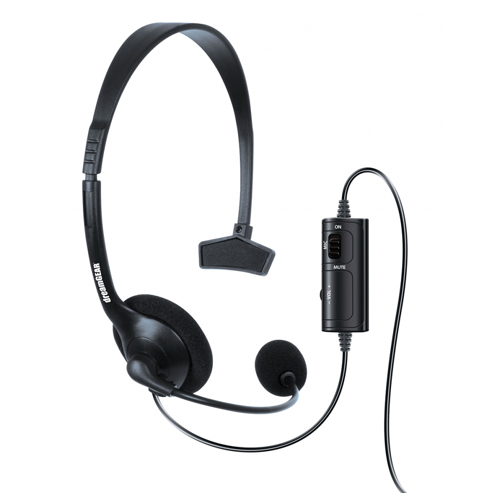 Headset Com Microfone e Controle de Volume Dreamgear para PS4 - DGPS4-6409