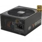 Fonte Cooler Master V850 80 Plus Gold 850W, 12V, 110/220V, Sem Cabo De Forca