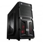 Gabinete Gamer Cooler Master K350 Mid Tower RC-K350-KWN1-EN - Preto, Sem Fonte