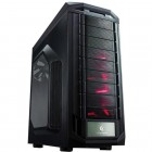 Gabinete Gamer Cooler Master Trooper Full Tower SGC-5000-KWN1 - Preto, Sem Fonte